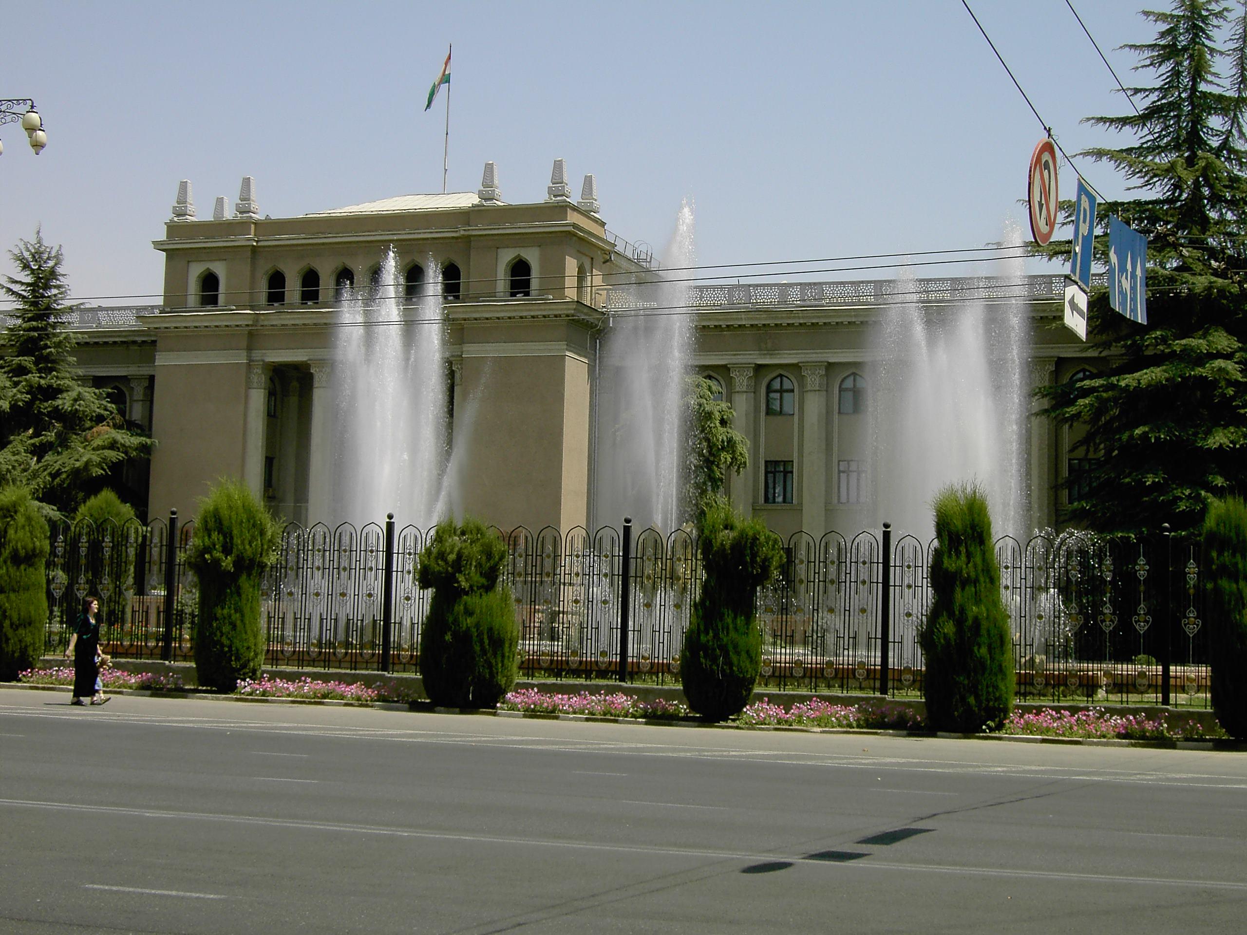 Дворец президента Таджикистана г. Душанбе